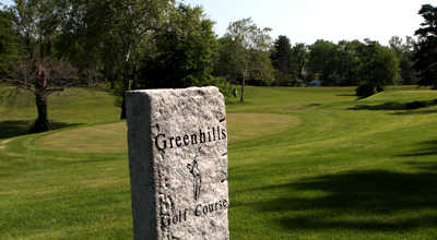 A view from tee #1 at  Greenhills Golf Course