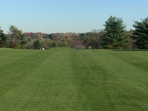 A view from a fairway at Executive Nine from Bethlehem Golf Course