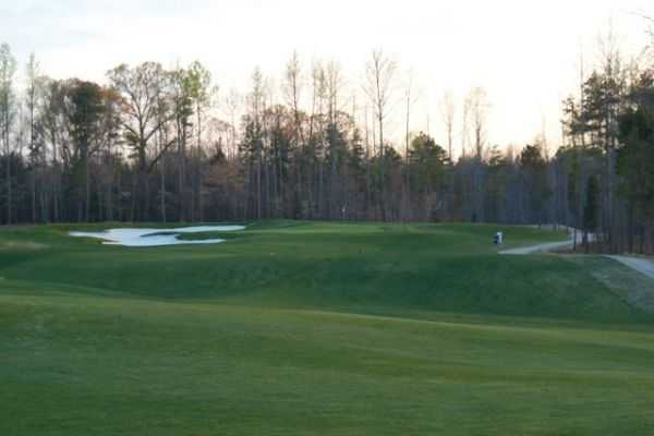 A view from the 10th fairway at Warrior Golf Club