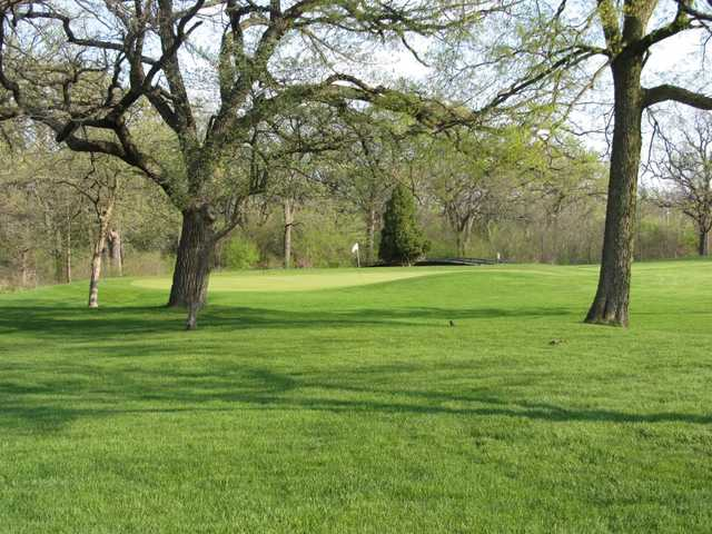 A spring view from Blackhawk Golf Course