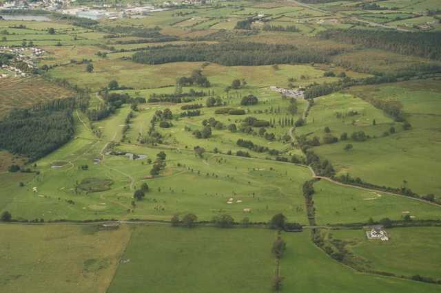 Aerial view of Claremorris Golf Club