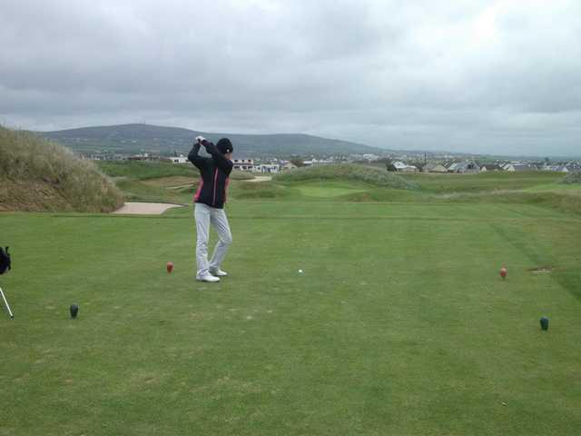 A view from a tee at Abbeyfeale Golf Club