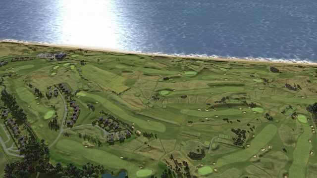 Aerial view of Seapoint Golf Club