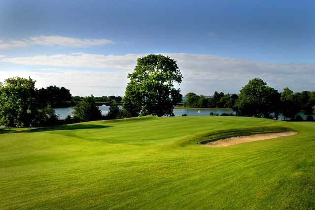 A view of a green at Dungarvan Golf Club