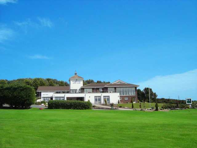 A view of the clubhouse at Waterford Golf Club