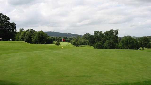A view of a green at Cahir Park Golf Club