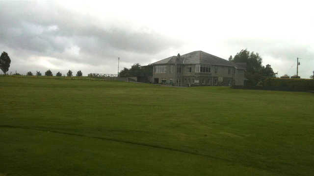 A view of the clubhouse at Cahir Park Golf Club