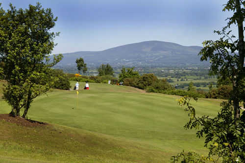 A view of the 11th hole at Carrick-on-Suir Golf Club
