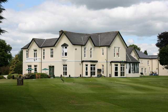 A view of the clubhouse at Thurles Golf Club
