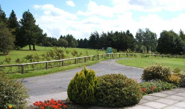 A view from Ballinasloe Golf Club
