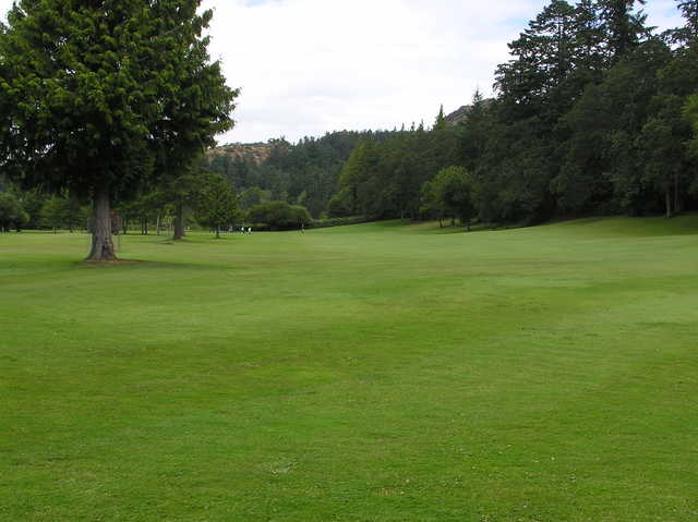 A view of fairway #6 at Mount Douglas Golf Course