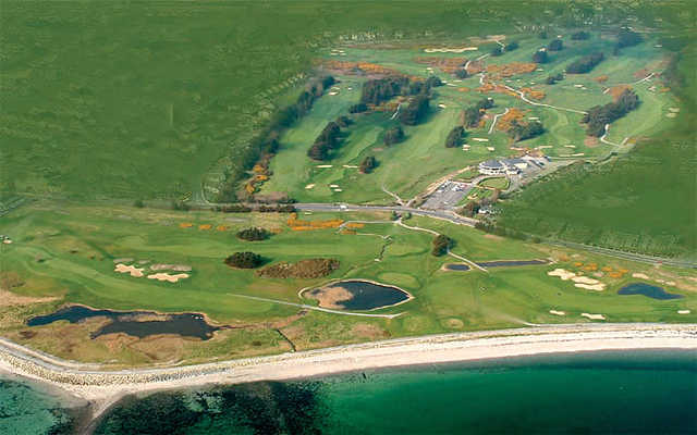 Aerial view of Galway Golf Club