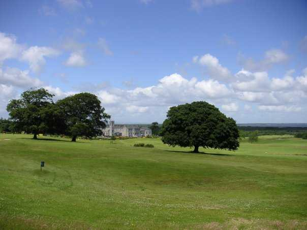 A view from the 7th tee at Glenlo Abbey Golf Club