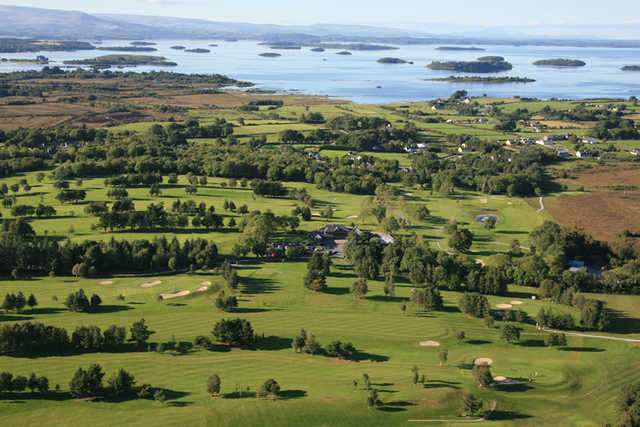 Aerial view of Oughterard Golf Club
