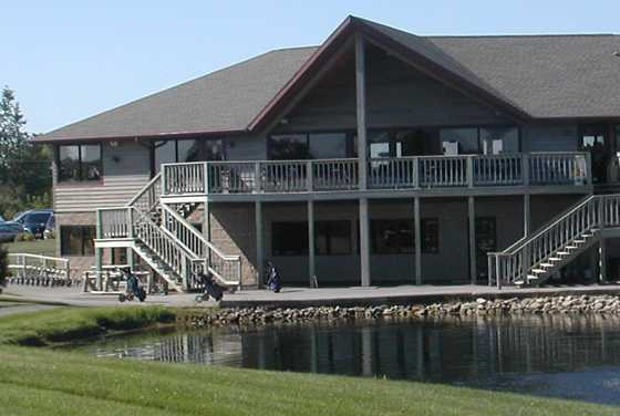 A view of the clubhouse at Westridge Golf Club