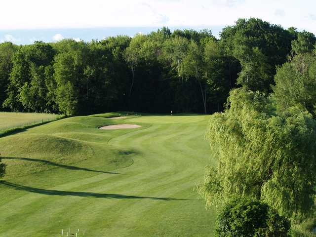 A view of a fairway at Pine Knot Golf and Country Club.