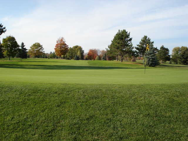 A view of green #1 at Missaukee Golf Course