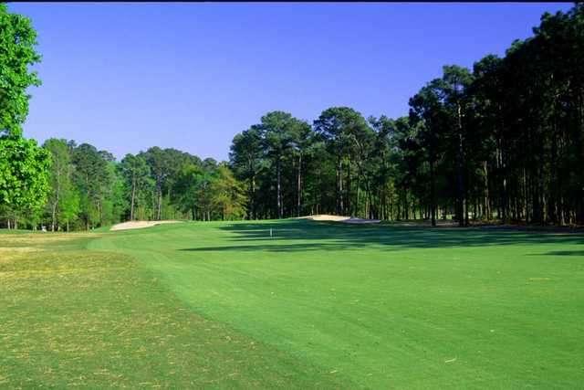 There's a real sense of being out in woods at Myrtle Beach's Waterway Hills.