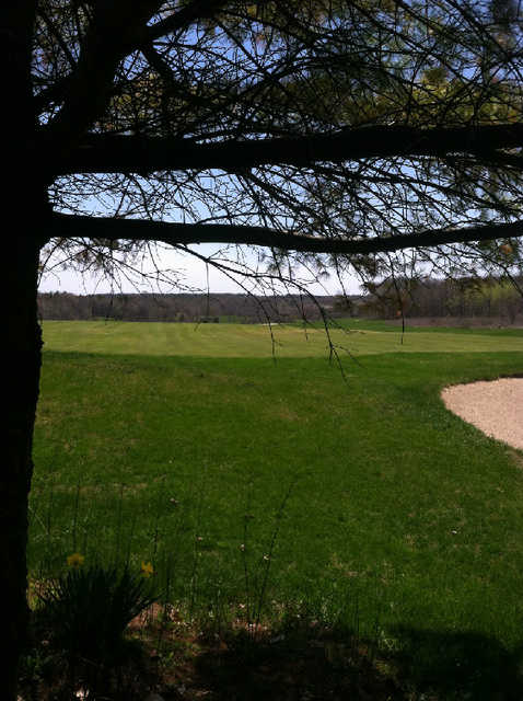 A view of green #9 at Cherry Hills Lodge & Golf Course