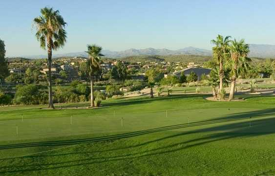 Desert Canyon GC: Practice Area