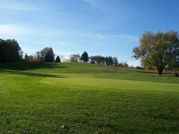 A view of hole #7 at Pleasant Hills Golf Course