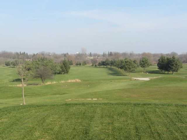 A view of tee #10 at Dorchester Golf Club