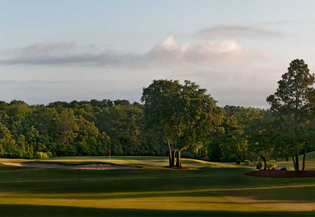 View from the 2nd hole at Beau Rivage Golf & Resort