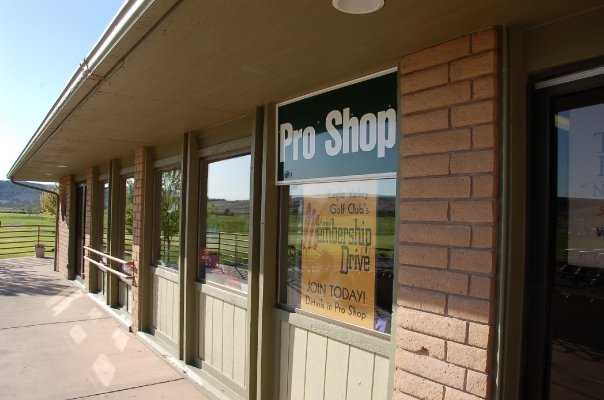 A view of the pro shop at Eagle Valley Golf Course