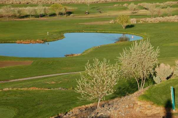 A spring view from Eagle Valley Golf Course