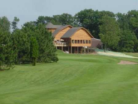 A view of the clubhouse at Butternut Hills Golf Club