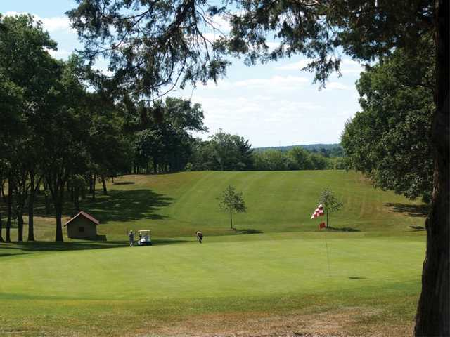 View of a green at Sinnissippi Park Golf Club