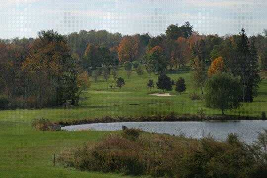 A view from tee #16 at Phillip J. Rotella Memorial Golf Course