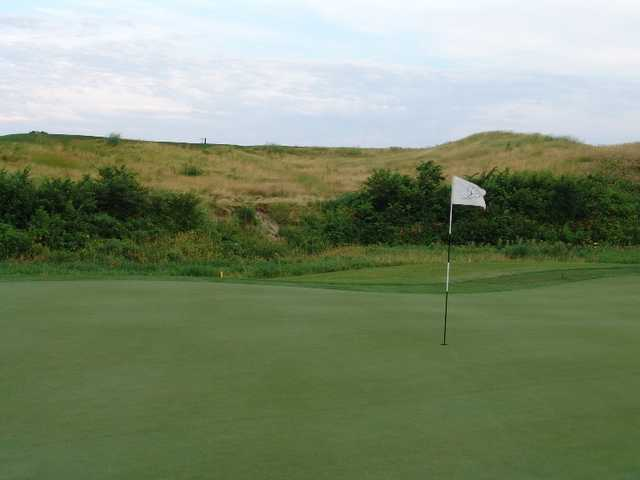 A view of hole #13 at Otter Creek Golf Course