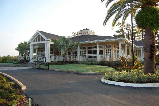A view of the clubhouse at Dubsdread Golf Course