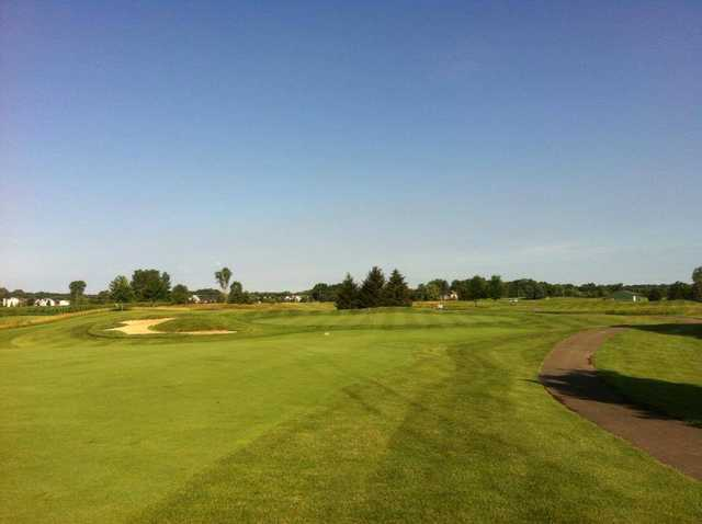 A view from fairway #16 at Coyote Golf Club