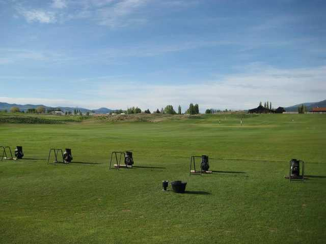 A view of the practice area at Ranch Club