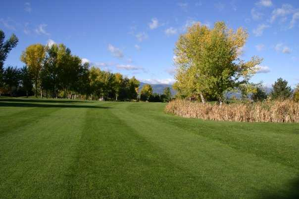 A view of fairway #5 at Highlands Golf Club