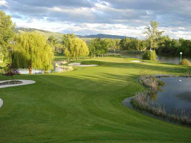 A view of the 17th fairway at Missoula Country Club