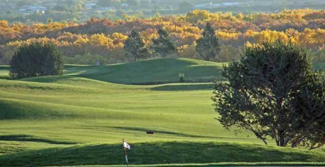A fall view from Santa Ana Golf Club