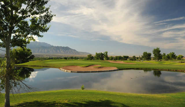 A view over the water from Santa Ana Golf Club.