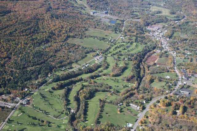 Aerial view of Windham Country Club