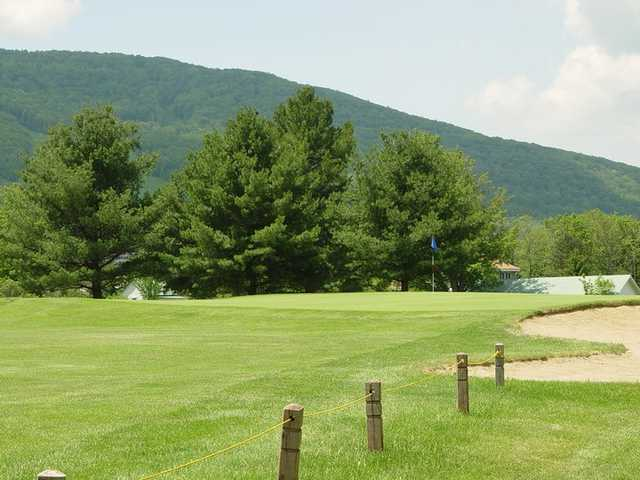 A view of a green at Windham Country Club