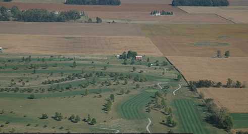 Aerial view of Prairie View Golf Club