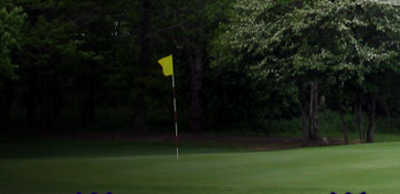 A view of a green at National Road Golf Course