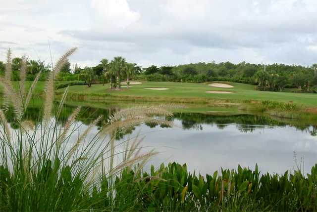A view over the water from Copperleaf Golf Club