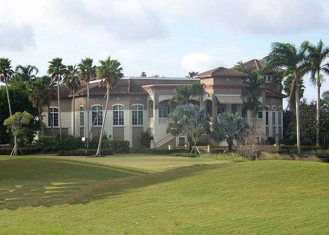 A view of the clubhouse at Palmira Golf Club