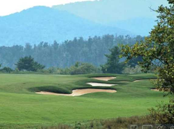 A view from the 2nd fairway at Brasstown Valley Resort