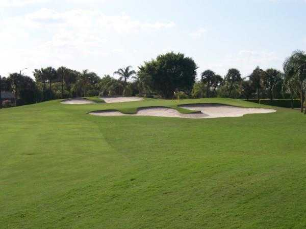 A view from the 6th fairway at Boca Greens Country Club