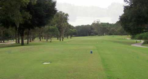 A view from a tee at Citrus Springs Golf & Country Club