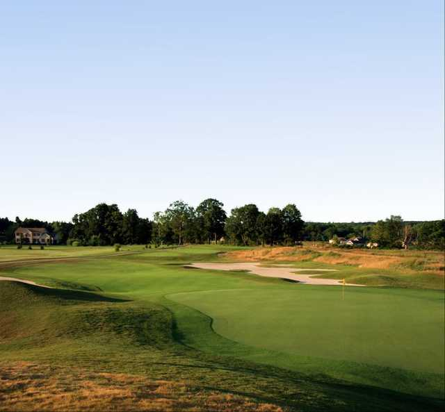 A view of the 15th fairway at Shale Creek Golf Club